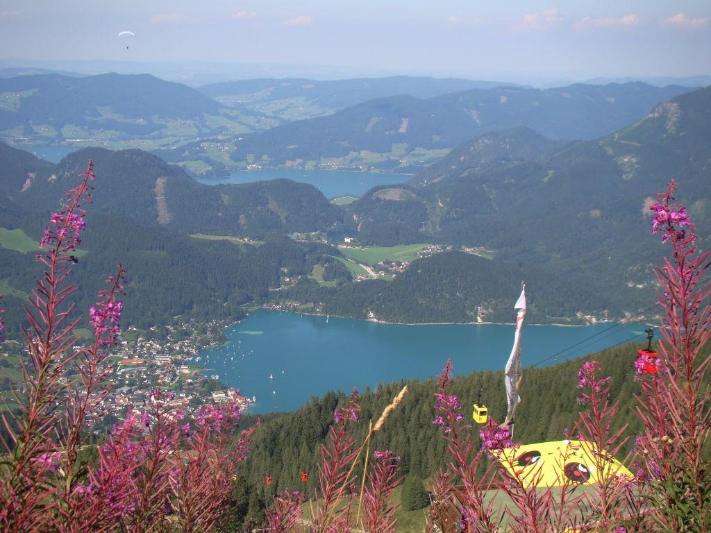 Salzkammergut, Áustria, St. Gilgen,The most beautiful lakes of Salzkammergut