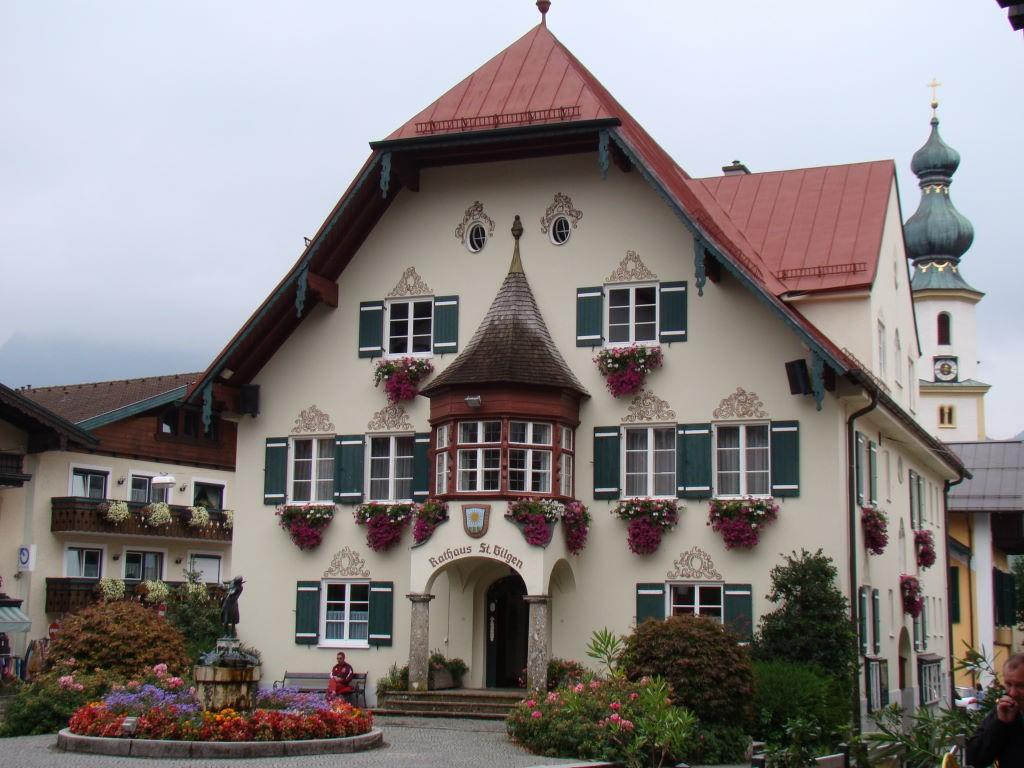 St. Gilgen, Salzkammergut, Áustria