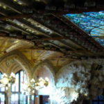 VISITING THE PALAU DE LA MUSICA CATALANA IN BARCELONA
