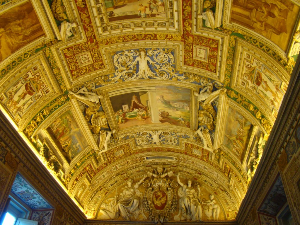Galeria dos Mapas - Museu do Vaticano e Capela Sistina - O Que Ver