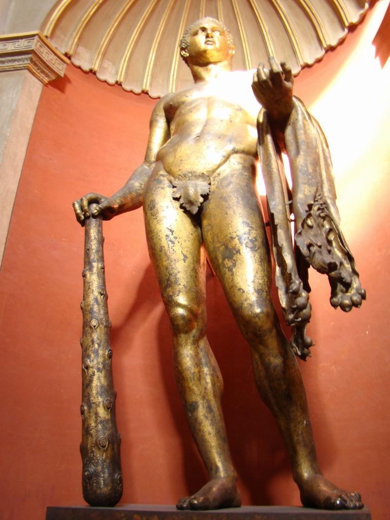 Estátua de Herácles nos Museus do Vaticano