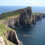 Neist Point Lighthouse na Ilha de Skye