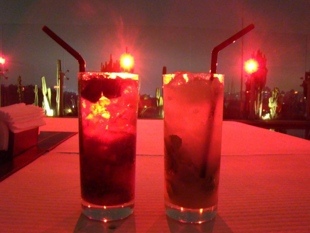 Happy Hour no Bar Skye do Hotel Unique - Pontos Turísticos de São Paulo SP