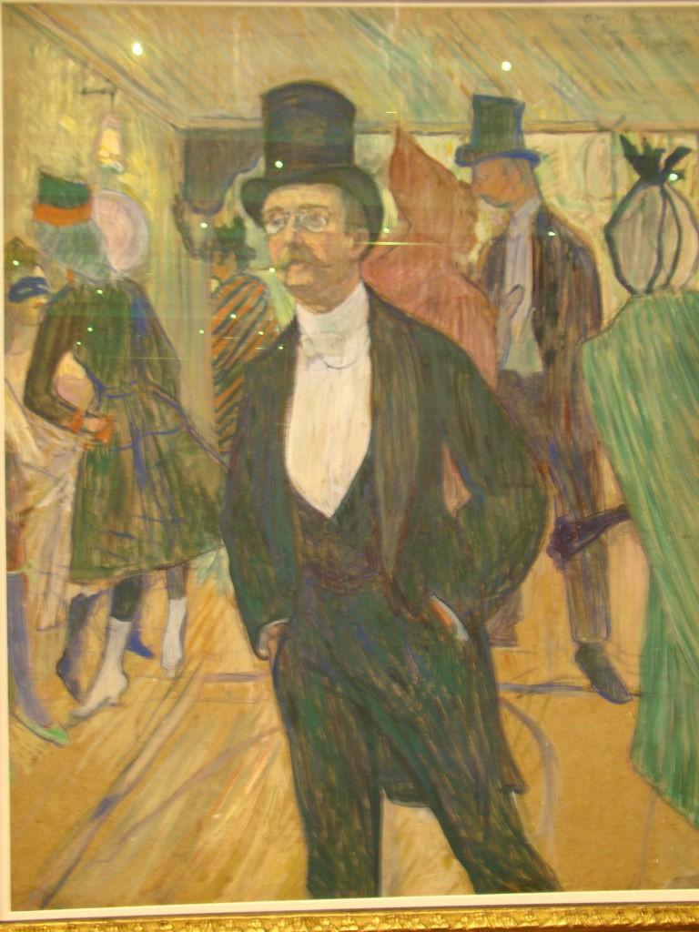 """Monsieur Fourcade"" de Toulouse-Lautrec - Dicas e destaques do SP MASP - Obras imperdíveis!"