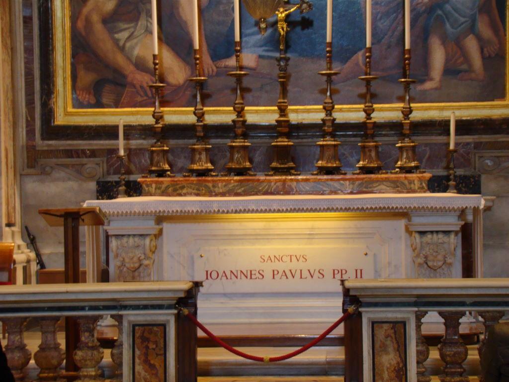 Capela do Papa João Paulo II  -  Basílica de São Pedro Visita Guiada