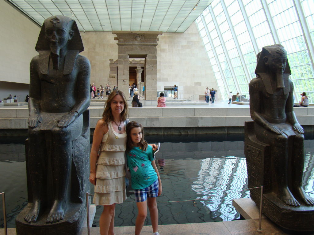 Templo de Dendur no Metropolitan - Nova Iorque com crianças - Melhores atrações