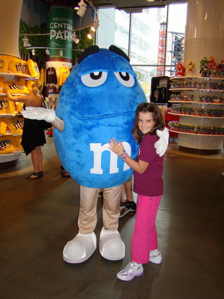 Loja dos M & Ms - Nova Iorque com crianças - Melhores atrações