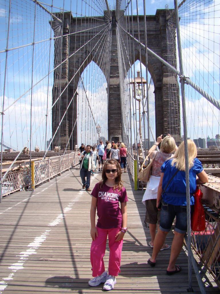 Brooklyn Bridge - Nova Iorque com crianças - Melhores atrações