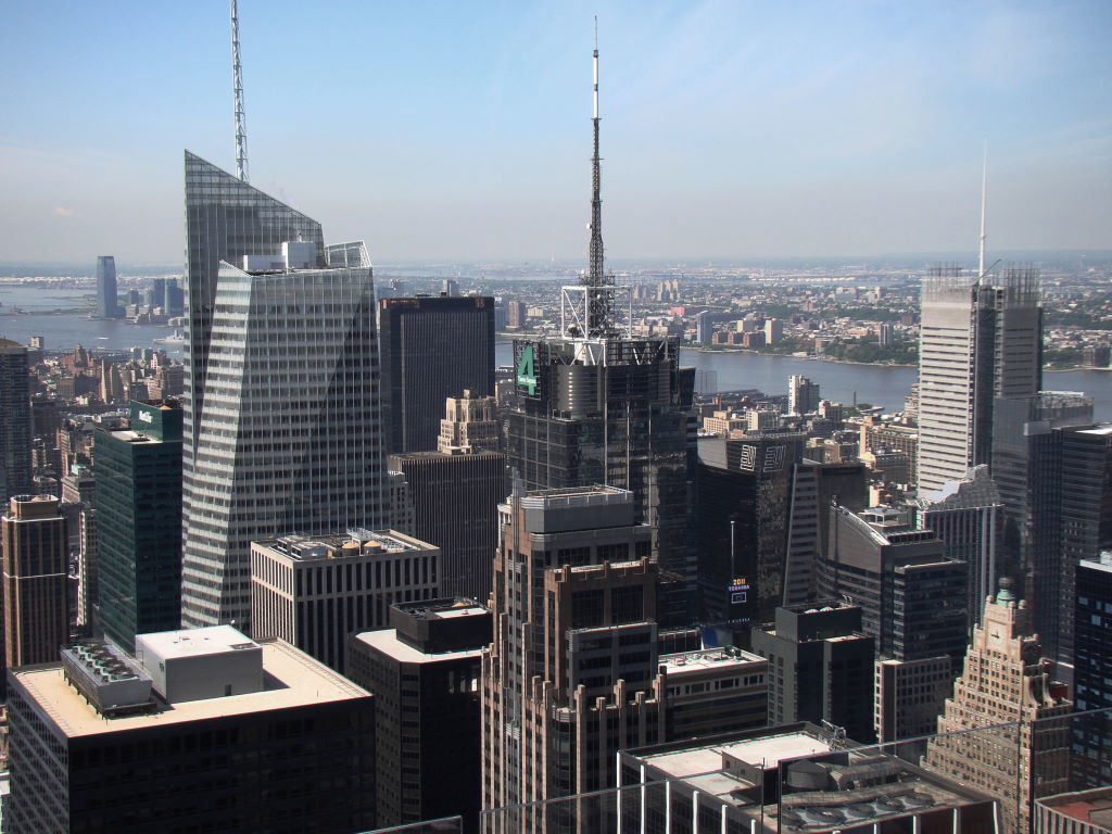 Times Square ,Top of the Rock