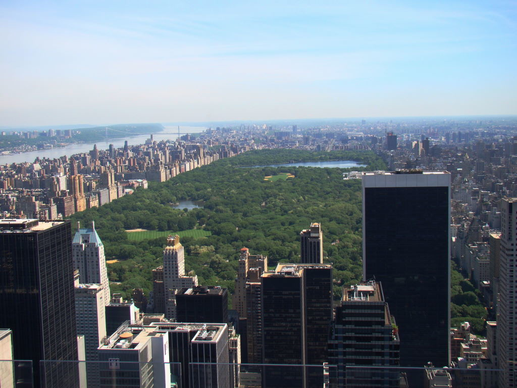 Central Park ,Top of the Rock