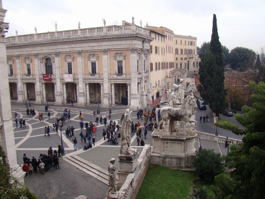 Cordonata e Piazza del Campidoglio - Pontos Turísticos de Roma