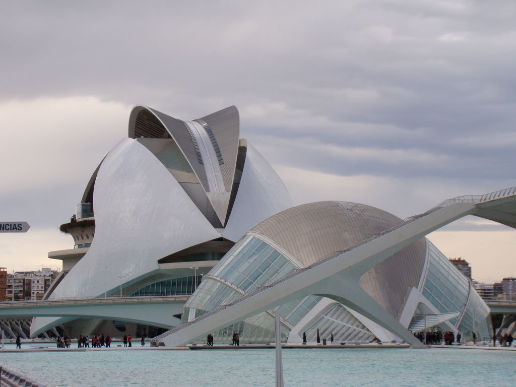 Cidade das Artes e Ciências - O que fazer em Valência Espanha - Pontos Turísticos