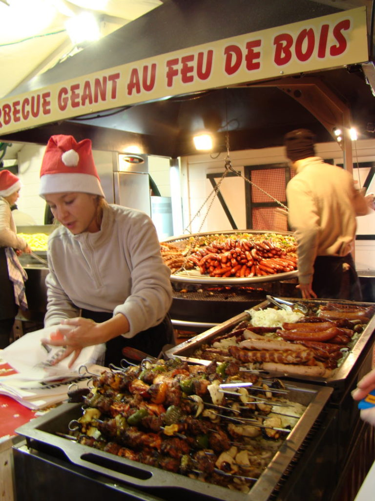 Feira da Champs - Elysées- Natal em Paris
