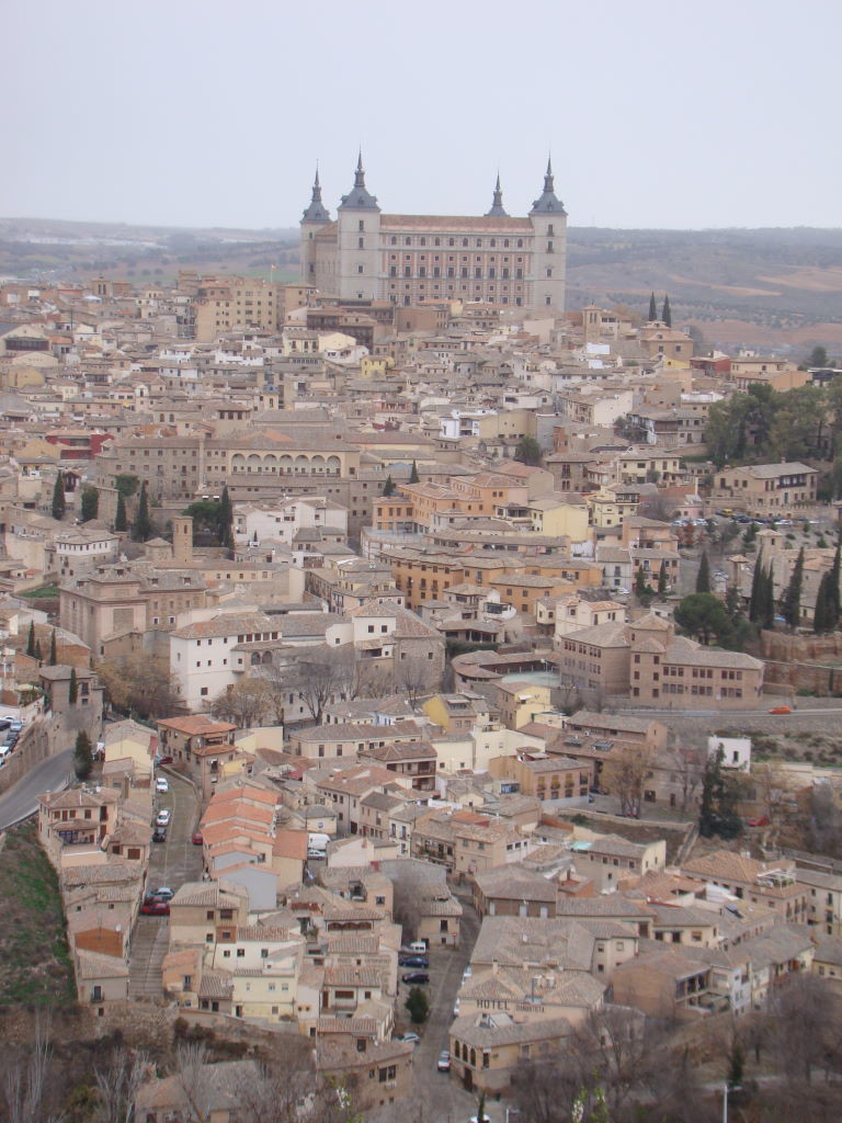 Toledo seen from the Parador Nacional - Toledo in 01 day