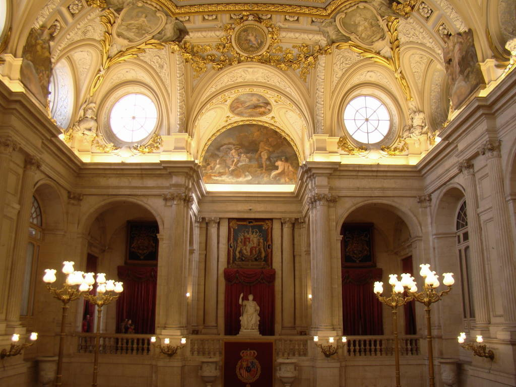 A Grande Escadaria - Palácio Real de Madri