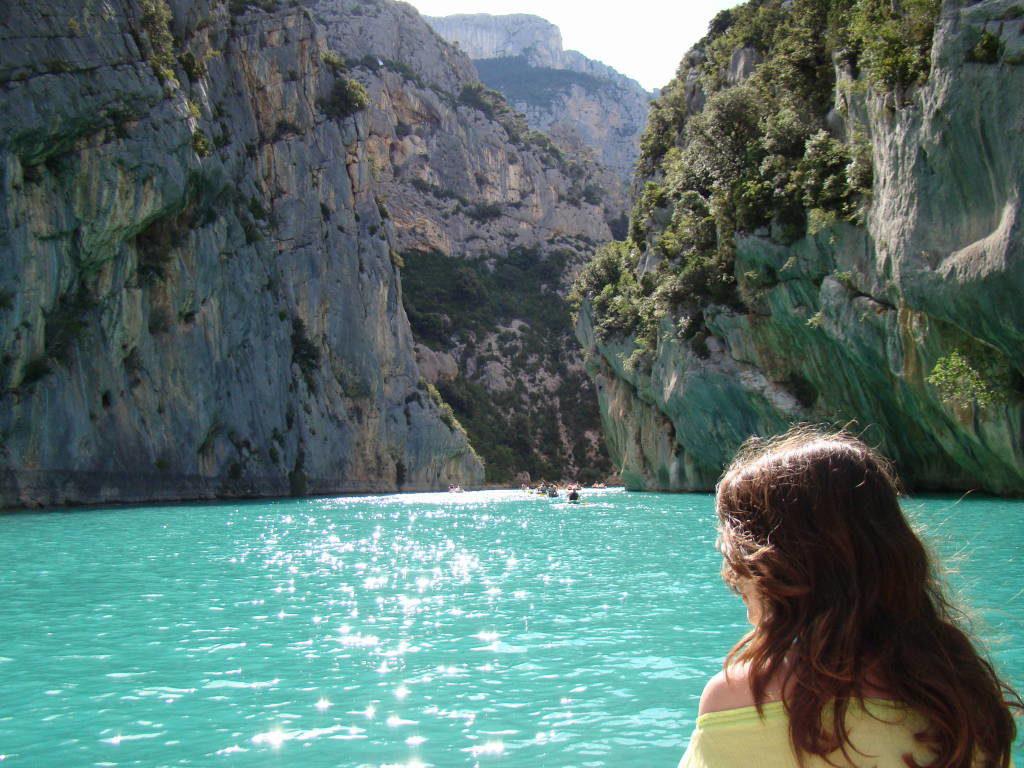 Lac Sainte-Croix e Gorge du Verdon - Campos de lavanda e girassóis na Provença