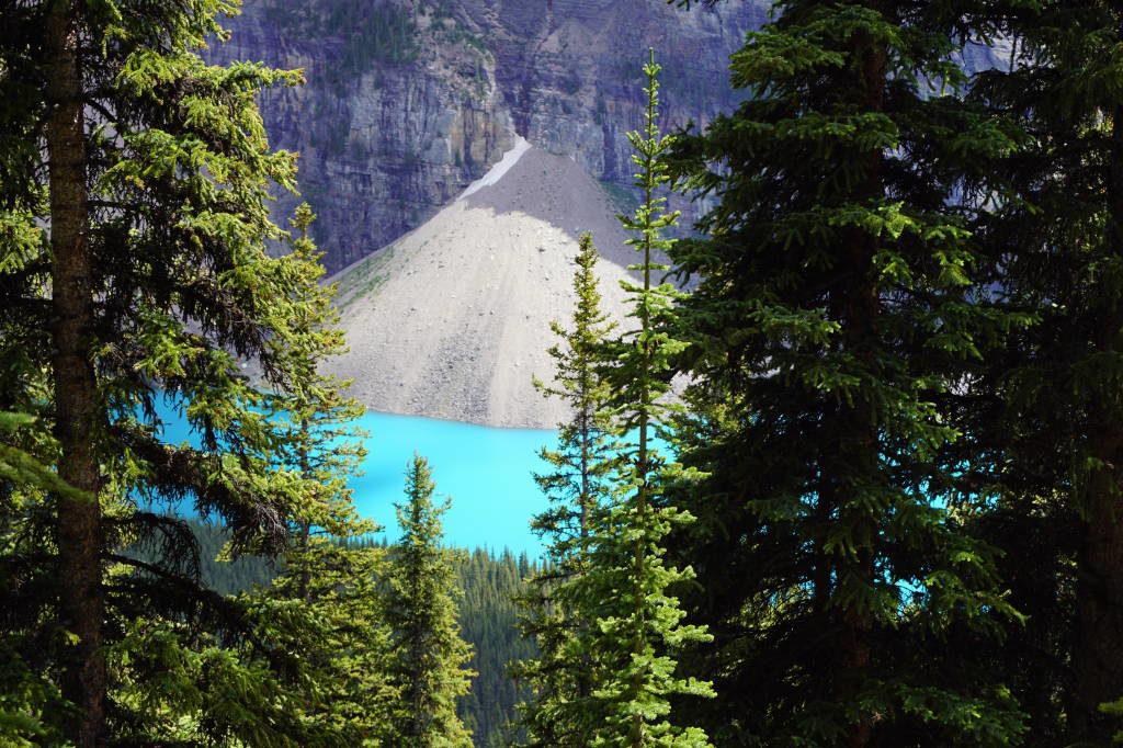 Larch Valley Trail - Lago Moraine Canadá - Moraine Lake Canadá