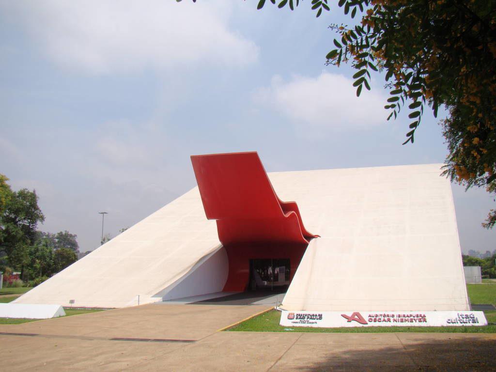 Auditório Ibirapuera - Pontos Turísticos de São Paulo SP