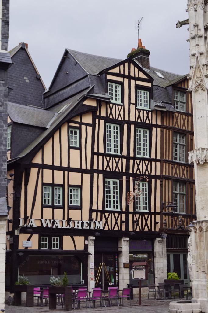 Rua Saint-Romain - O que fazer em Rouen França
