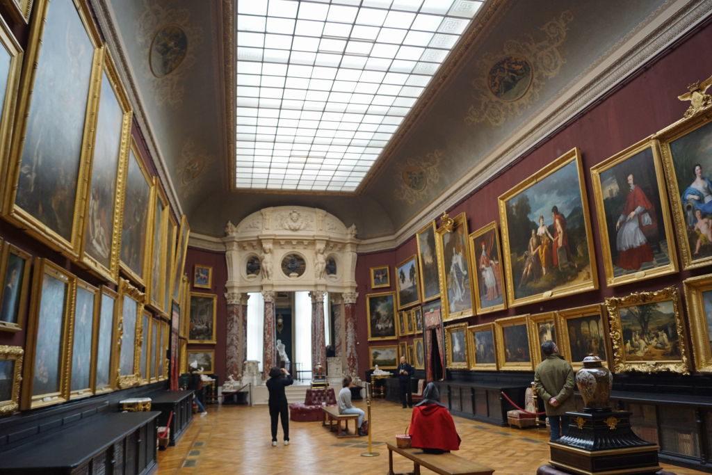 A Galeria de Pinturas - O Castelo de Chantilly França vale a pena?