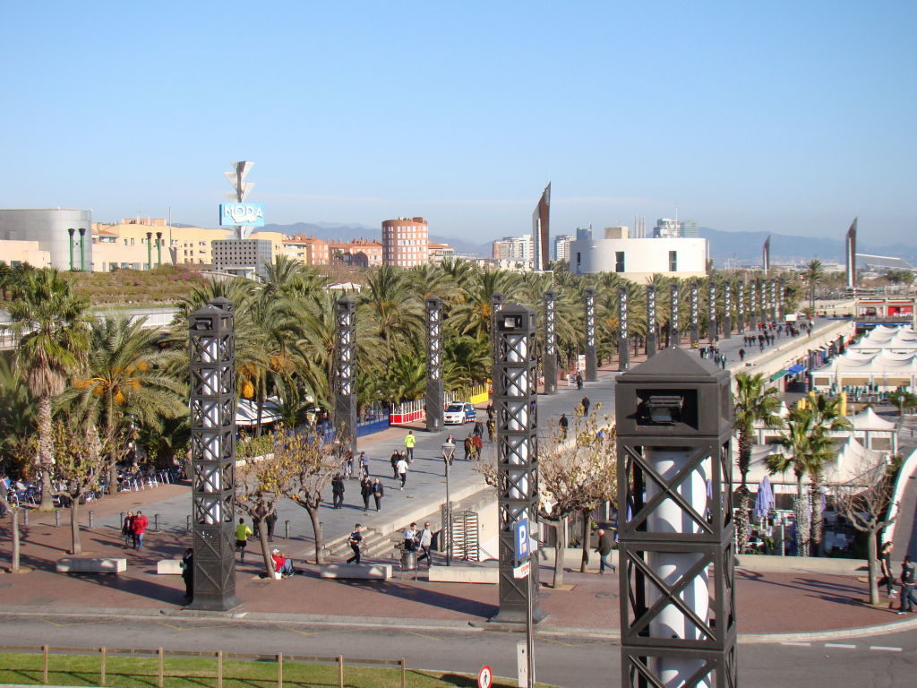 Port Olímpic - O que fazer em Barcelona pontos turísticos