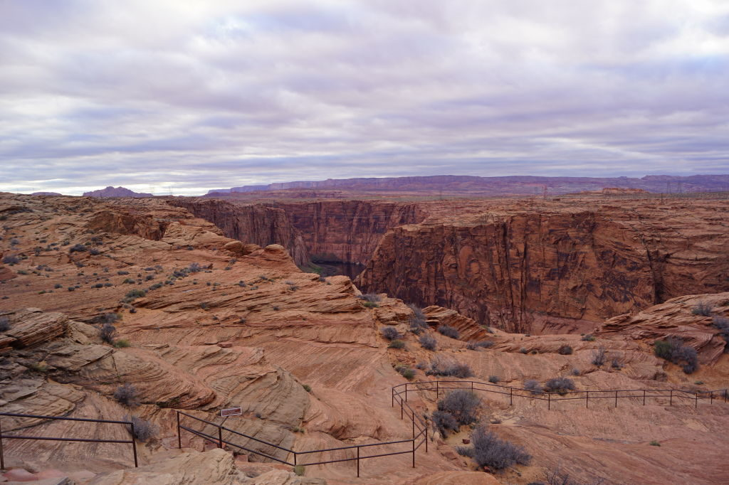 Belvedere da Glen Canyon Dam - Dicas do Antelope Canyon EUA