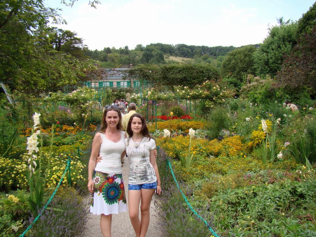 Jardim de Monet em Giverny França