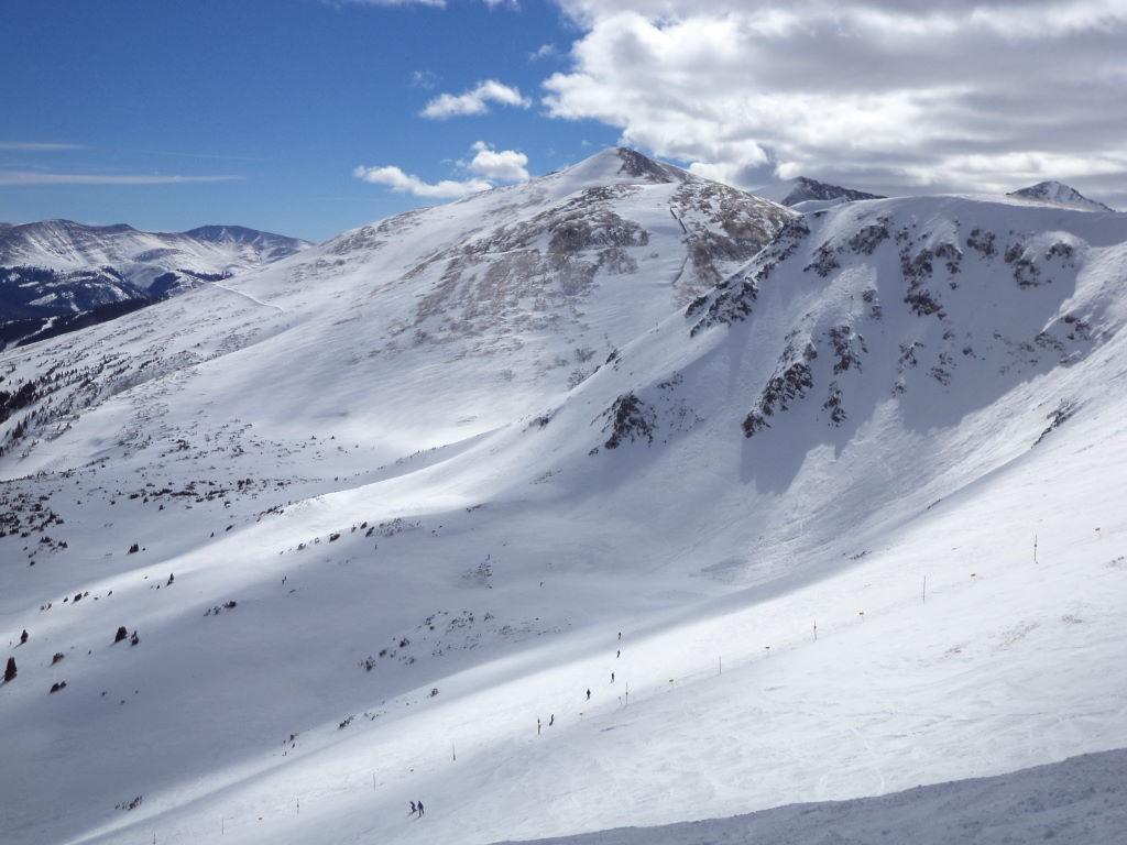 Bowl do Peak 06 - Ski na neve? Breckenridge  Colorado EUA!