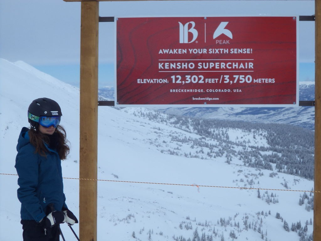 Kensho Super Chair - Peak 06 - Ski na neve? Breckenridge  Colorado EUA!