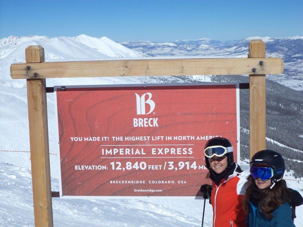 Imperial Express - Teleférico mais alto da América do Norte - Ski na neve? Breckenridge  Colorado EUA!