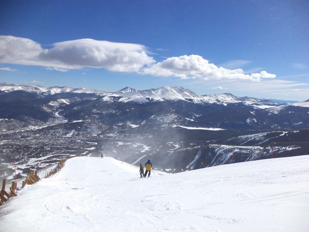 Topo do Peak 09 - Ski na neve? Breckenridge  Colorado EUA!