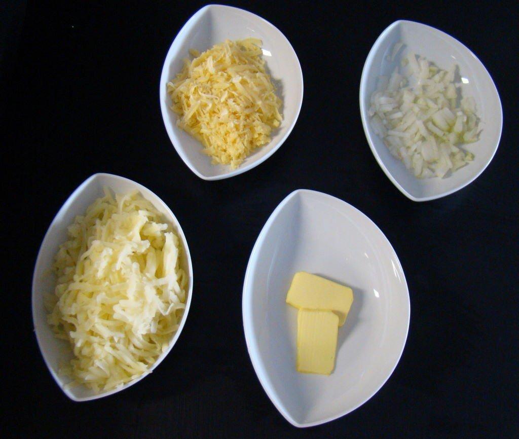 Comida Típica da Suíça - Batata Rosti com Queijo Gruyère
