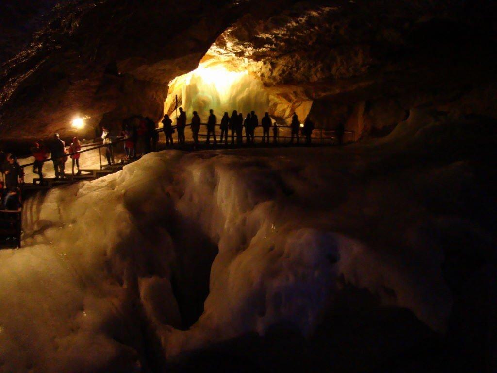 Caverna de Gelo/Eishole em Obertraun - Hallstatt Áustria - Atrações e Dicas