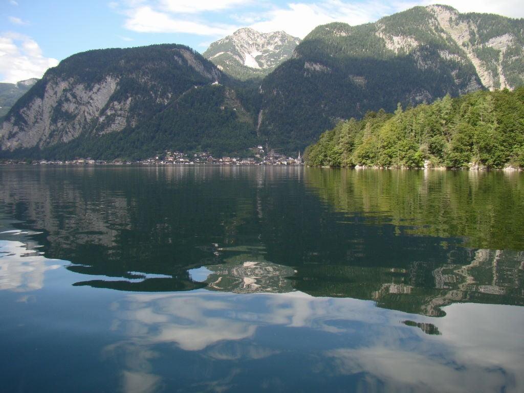 Passeio de barco elétrico em Hallstatt Áustria - Atrações e Dicas