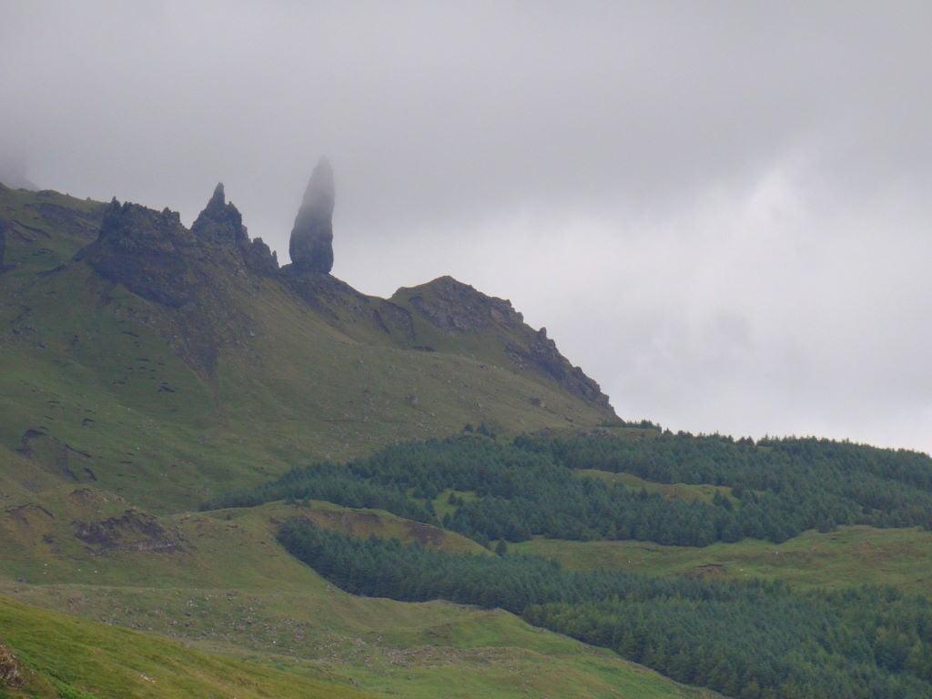 Old Man of Storr perto de Portree - Ilha de Skye - Highlands Escócia