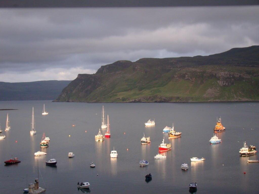 Portree Harbour - Ilha de Skye - Highlands Escócia