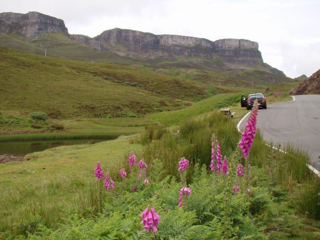 Montanhas Quiraing - Ilha de Skye - Highlands Escócia