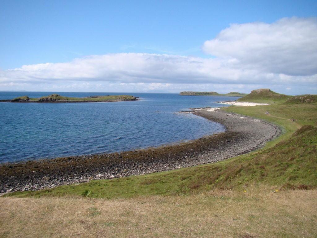 Praia de Coral Claigan  - Ilha de Skye - Highlands Escócia