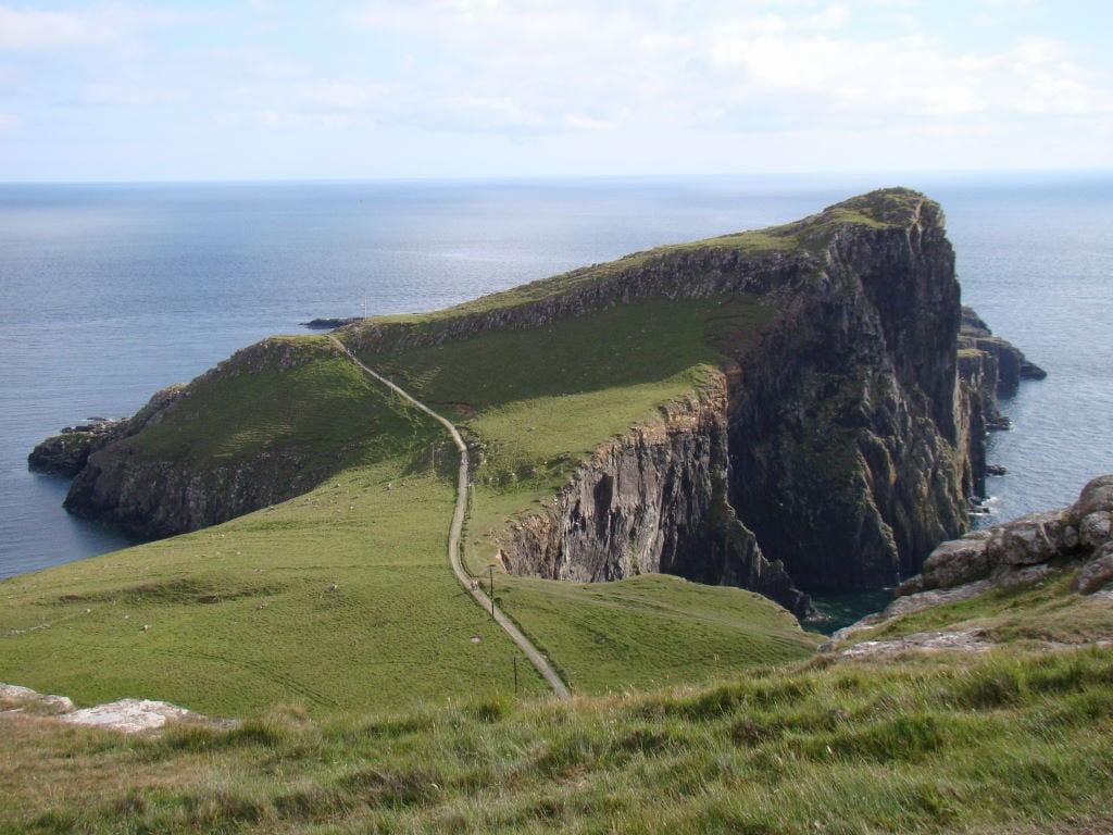 Neist Point Lighthouse  - Ilha de Skye - Highlands Escócia