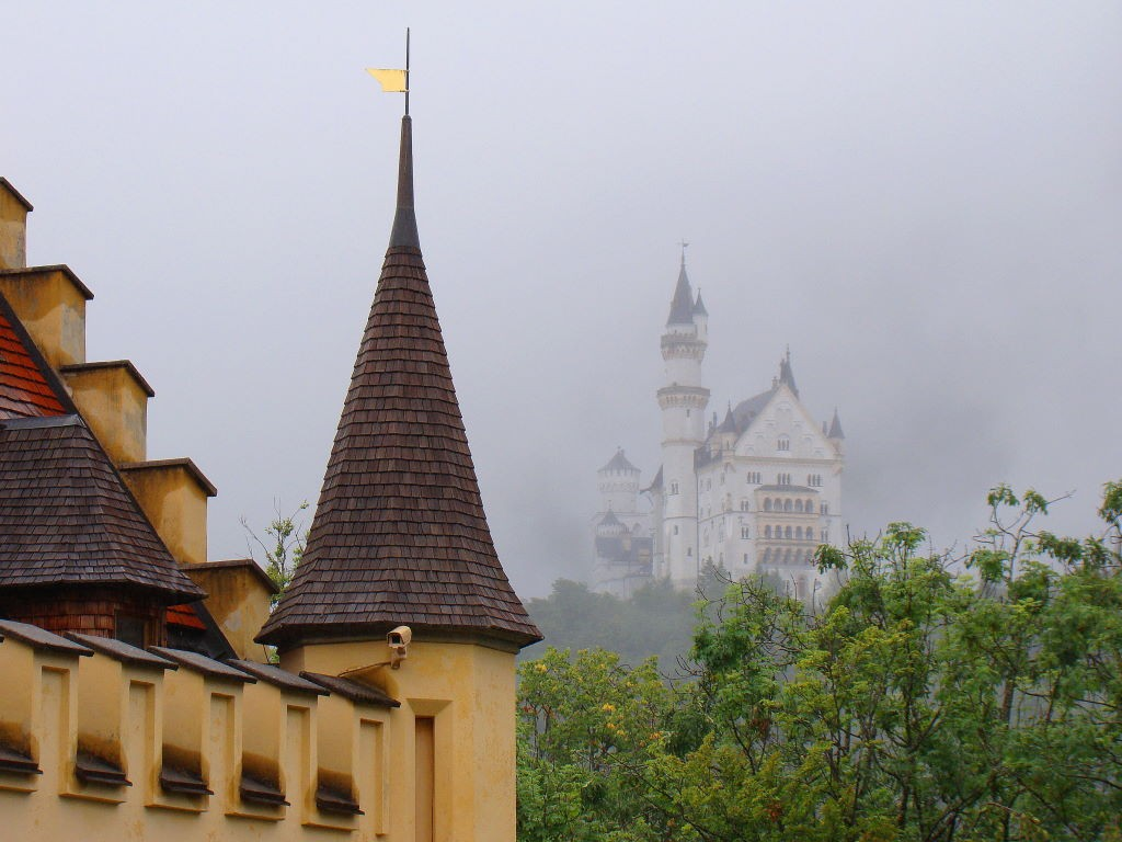 Neuschwanstein e  Hohenschwangau  - Para onde viajar em julho na Europa