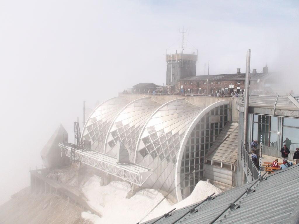 Zugspitze -Para onde viajar em julho na Europa