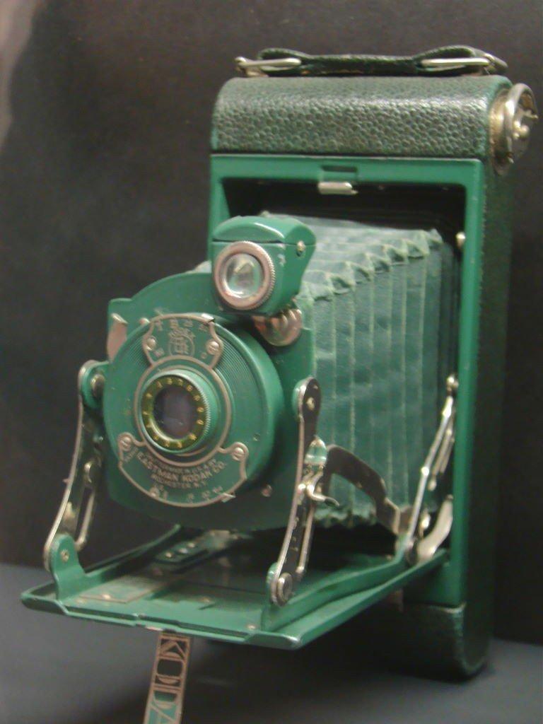 Primeira máquina portátil Kodak no Castelo de Mármore