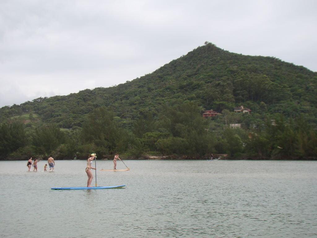 Praia de Ibiraquera - As mais descoladas e melhores praias de SC