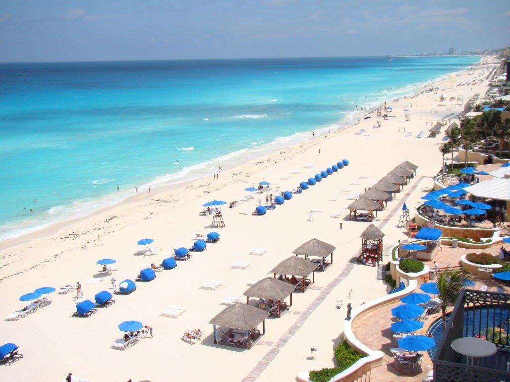 Cancun vista do Hotel Ritz Carlton - O que fazer em Cancun México