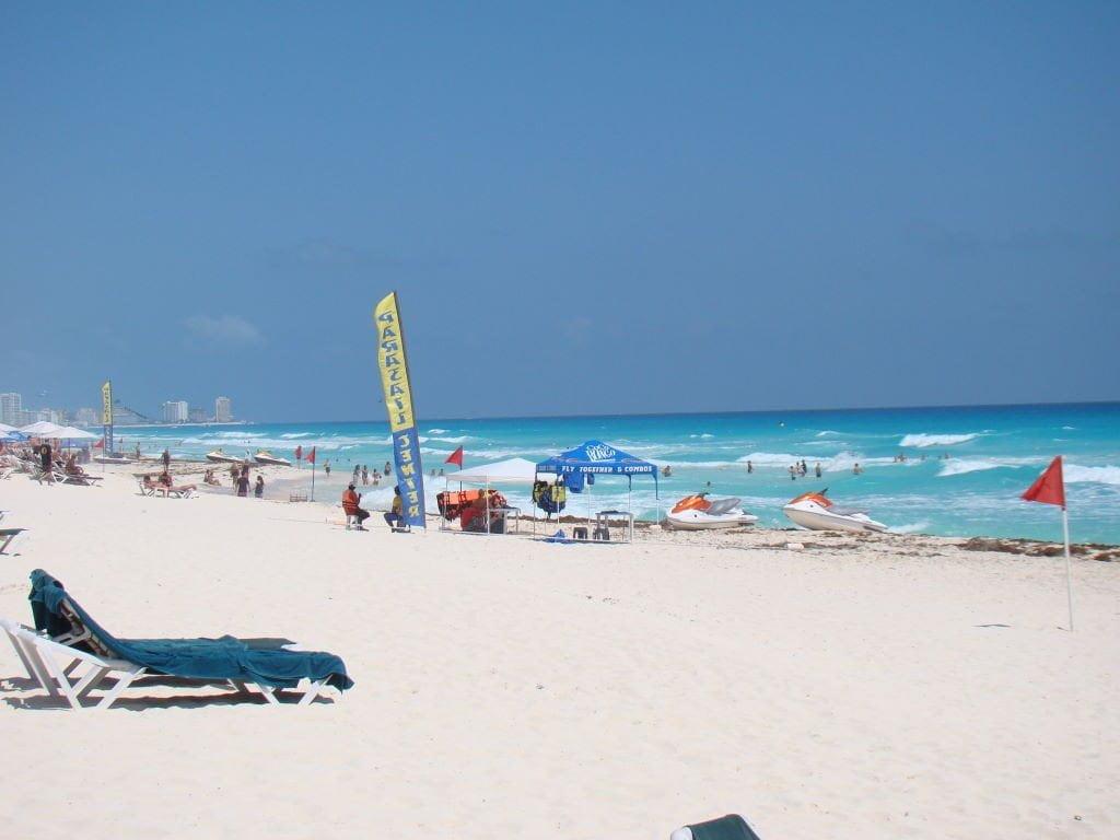 Tenda de aluguel de jet ski - O que fazer em Cancun México
