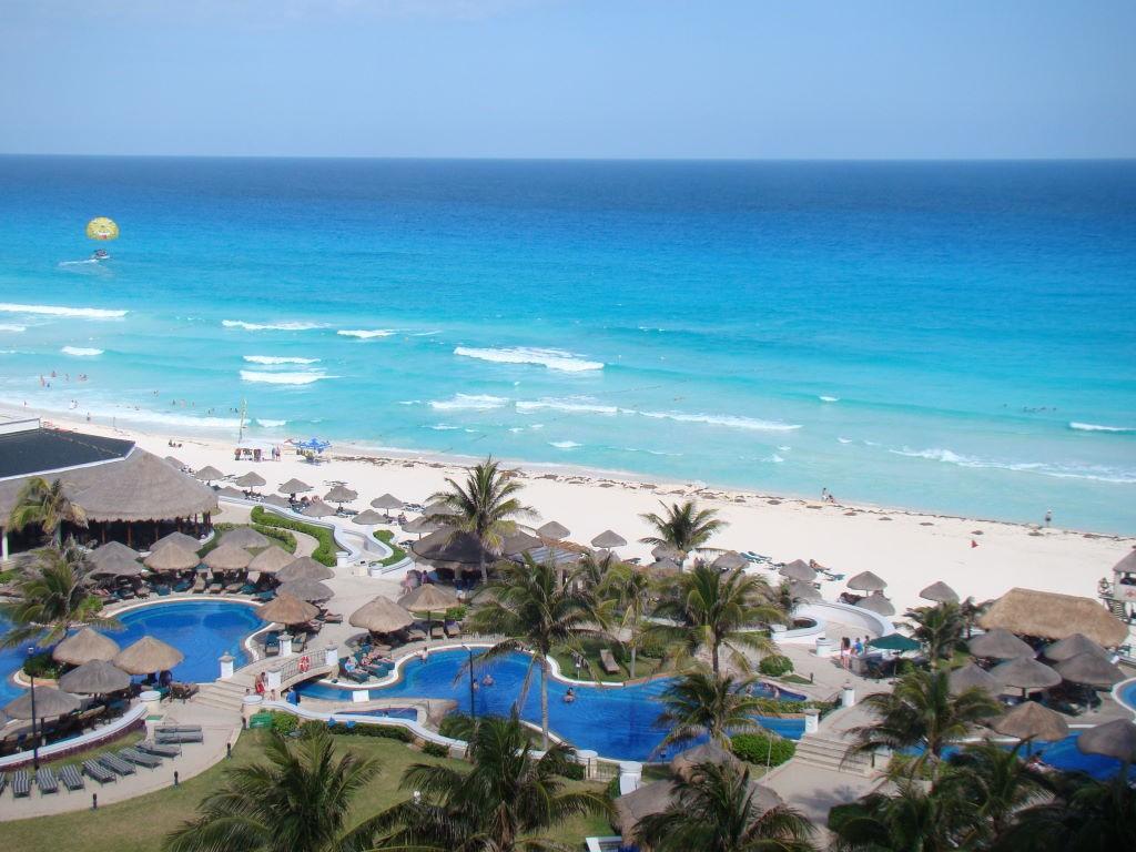 Vista do Hotel JW Marriott -O que fazer em Cancun México