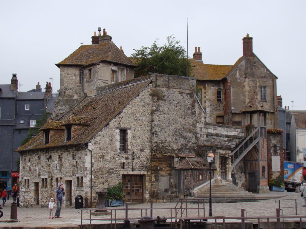 La Lieutenance em Honfleur na Normandia