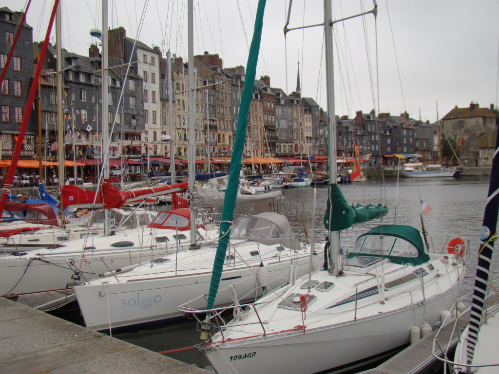 Vieux Bassin, Honfleur, Normandia