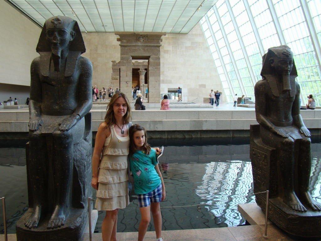 Templo de Dendur no Metropolitan Museum of Art - Principais Pontos Turísticos de Nova Yorkças
