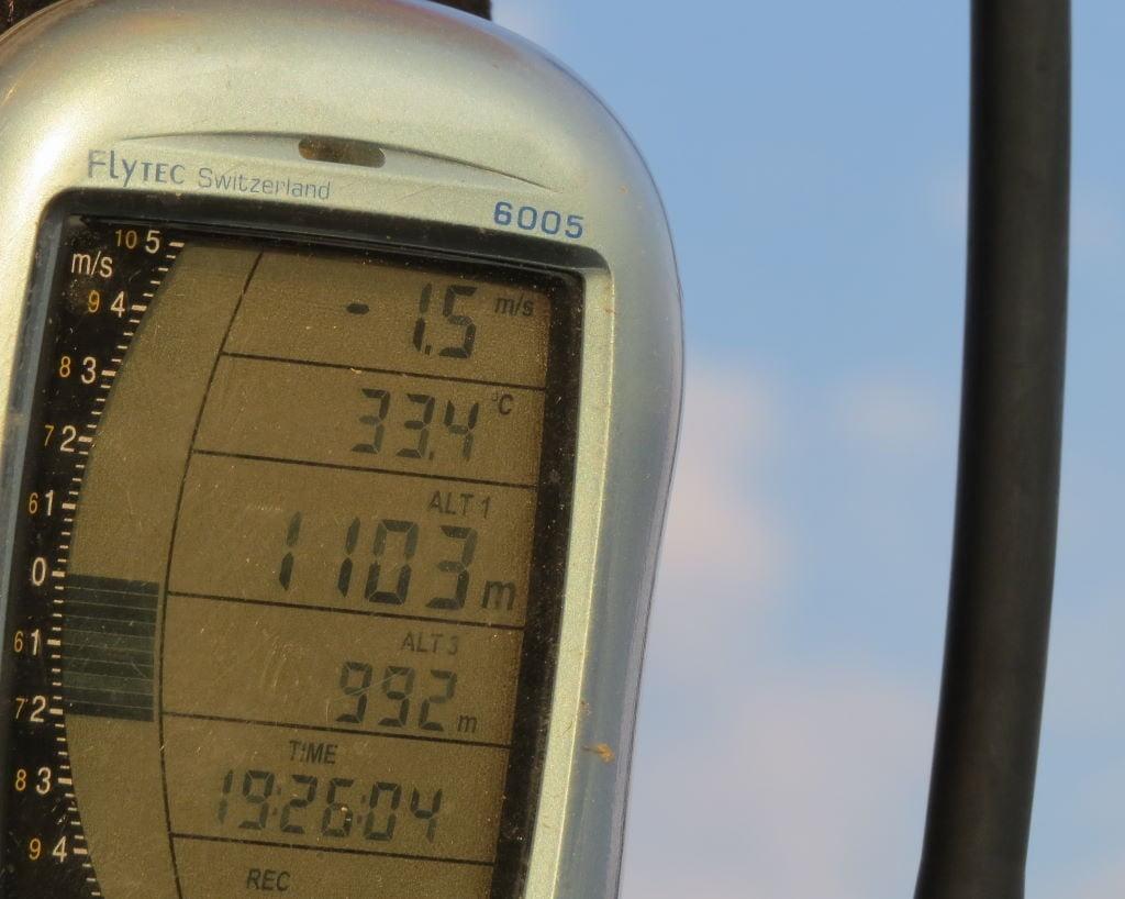 Veja a altitude que fomos no passeio de balão no Vale do Loire França!